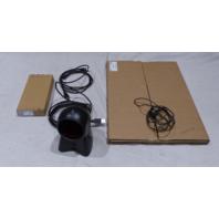 FEIG HONEYWELL ANTENNA MODULE BARCODE SCANNER AC ADAPTER ANT340 240-A MS7120