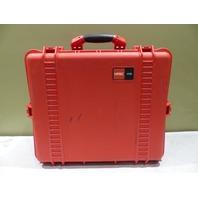 HPRC WATERPROOF CUBED FOAM PLASTIC DRY BOX RED 2700