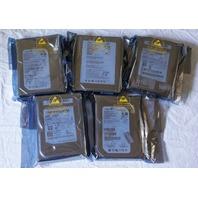 LOT OF 5* SATA 80GB HARD DRIVES SAMSUNG HD080HJ/P HD083GJ SEAGATE ST380815AS