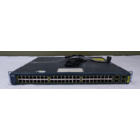 CISCO 48-PORT NETWORKING SWITCH WS-C3560-48PS-S