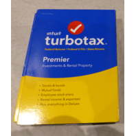 INTUIT TURBOTAX PREMIER - INVESTMENTS & RENTAL PROPERTY