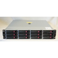 HP STORAGEWORKS D2600 DISK ENCLOSURE AJ940-63002 AJ940A 12 * 2TB 7.2K HDD 24TB