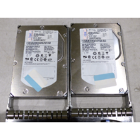 LOT OF 2* IBM ESERVER ST373455SS 73.4GB HARD DRIVES 9Z3066-039 15K RPM SAS HDD