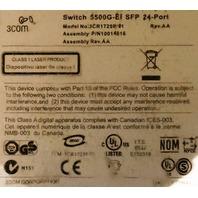LOT OF 4* 3COM SUPER STACK 4 SWITCH 5500G-EI SFP 24-PORT 3CR17258-91
