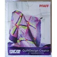 PFAFF QUILTDESIGN CREATOR 5D QUILTDESIGN SYSTEM 821003-026