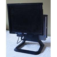 """DELL OPTIPLEX 760 W/ 17"""" MONITOR & STAND CORE 2 DUO E7500 @ 2.9GHZ 1708FPT"""