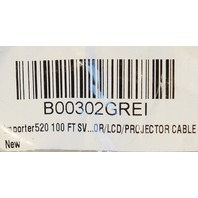 LOT OF 2* IMPORTER 100FT SVGA CABLE B00302GREI