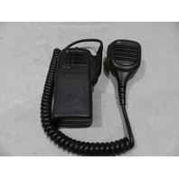MOTOROLA HANDHELD RADIO W/CLIP & MICROPHONE HT750