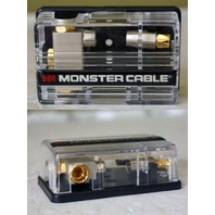 MONSTER CABLE 104086 CAR POWER PFD 12A 1-2 WAY POWERFUSE DISTRIBUTION BLOCK UNIT