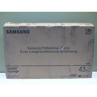 "SAMSUNG 43"" PROFESSIONAL DISPLAY MONITOR PM43H"