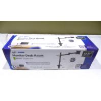 AVF 1 COMPUTER MONITOR DOUBLE ARM DESK MOUNTS MRC1104-A