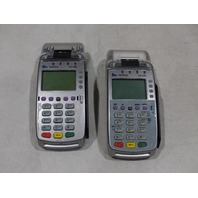 LOT OF 2* VERIFONE PIN PAD CREDIT/DEBIT CARD PAY TERMINAL VX520