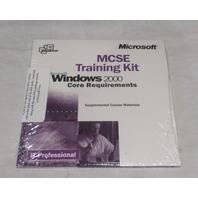 MICROSOFT MCSE TRAINING KIT WINDOWS 2000 CORE REQUIREMENTS SUPPLEMENTAL MATERIAL