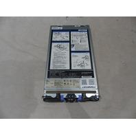IBM HS22 BLADE 7870-AC1 INTEL 2.0GHZ 6* 2GB RAM QLOGIC 4GB 46M6067