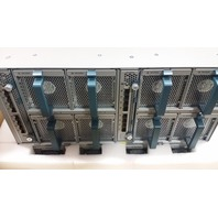 CISCO UCSB-5108-AC2 BLADE SERVER CHASSIS 8* FANS 2* 2208XP 20*FET-10G XFP 4*PSU