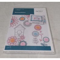 OESD EMBROIDERY SOFTWARE DESIGNS, BLOOMING BUTTONS 12535 12535CD