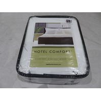 HOTEL COMFORT BAMBOO COLLECTION QUEEN SET WHITE