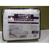 BAMBOO COLLECTION 1800 SERIES GOOSE DOWN ALTERNATIVE COMFORTER KING