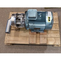 LEROY SOMER PUMP MOTOR 7023201 586999 E16  3510RPM 7.5HP