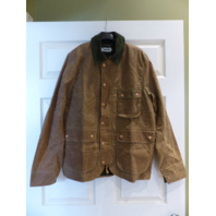TAYLOR STITCH THE ROVER JACKET WAXED CANVAS FIELD TAN 40