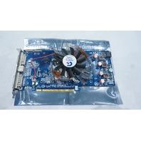 GIGABYTE D33006 MPCIE1 GV-RX195P256D-RH DUAL DVI-I GRAHICS CARD