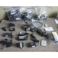 LOT OF MISC CHARGERS/ BATTERIES/CORDS OTHER ACCESSORIES PALM HTC SONY
