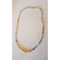 MULTI-COLOR SAPPHIRE STRAND NECKLACE W/ 50.30CTW SAPPHIRES + 18K YELLOW GOLD NEW