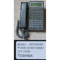 TOSHIBA PERCEPTION HDT2020SD 20 BUTTON LCD PHONE