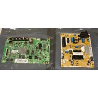 SAMSUNG MAIN BOARD W/ POWER SUPPLY BOARD FOR TV BBN94-07455J