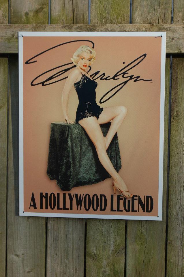 Man Cave Hollywood : Marilyn monroe hollywood tin sign garage man cave bar