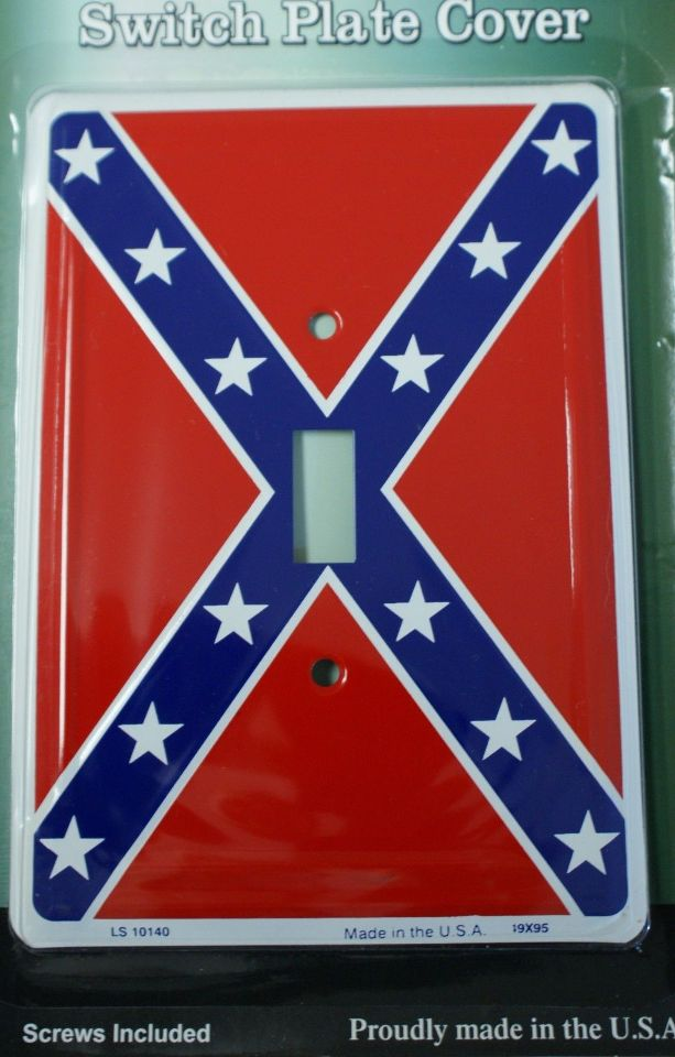 Dixie Confederate Flag Light Switch Plate Cover South