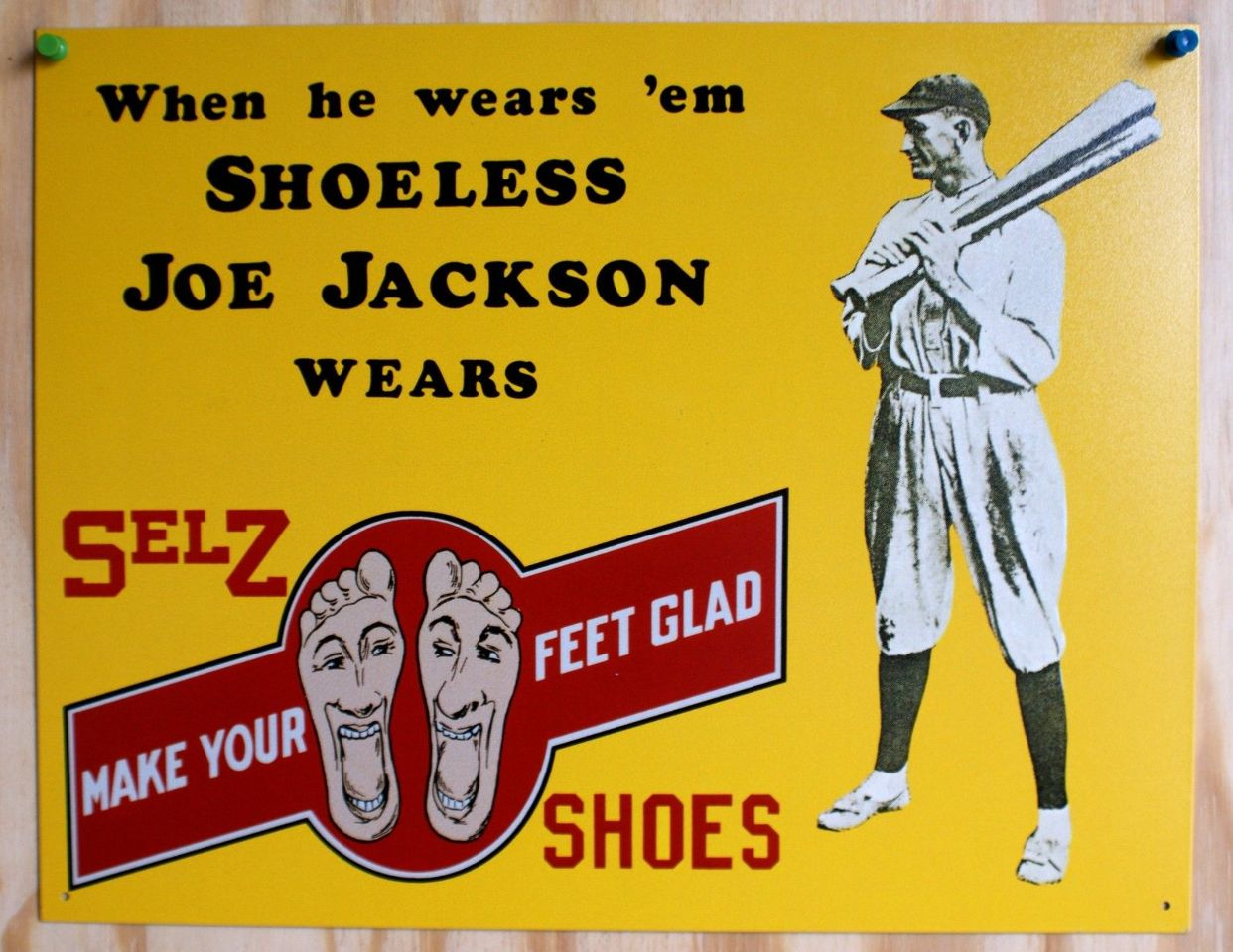 "shoeless joe and nostalgia I used to love field of dreams when i first watched it, on vhs at some point in the late eighties, i cried, as all men supposedly do the film is about fathers and sons, baseball and ghosts and ""cosmic tumblers"" falling into place."