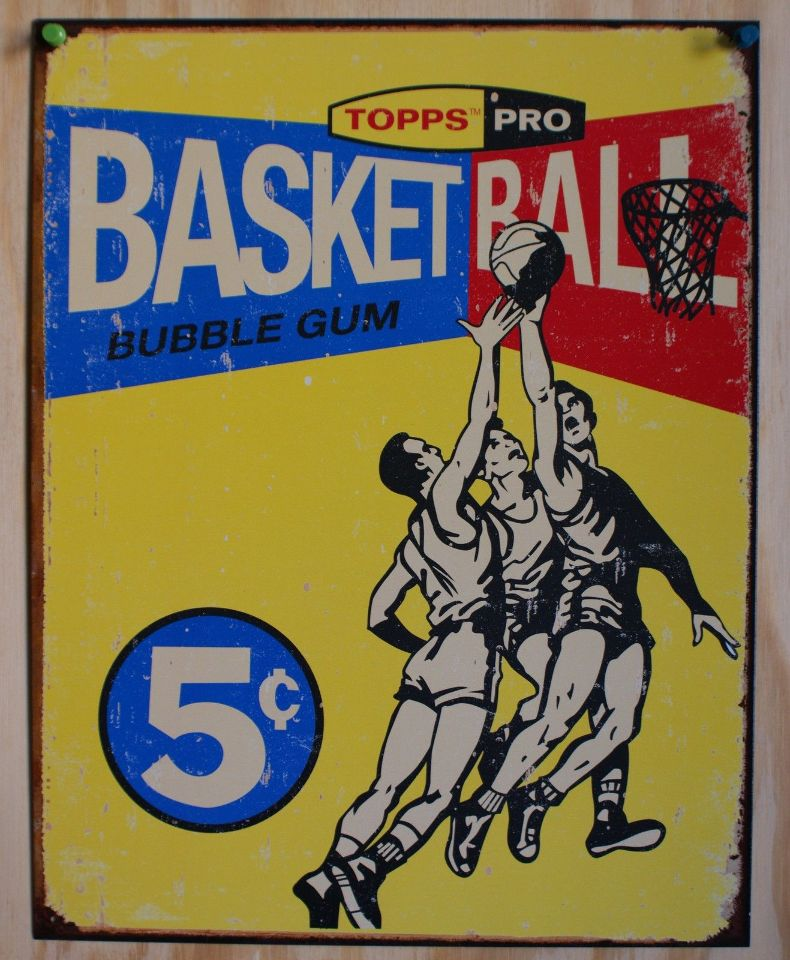 Vintage Basketball Card 57