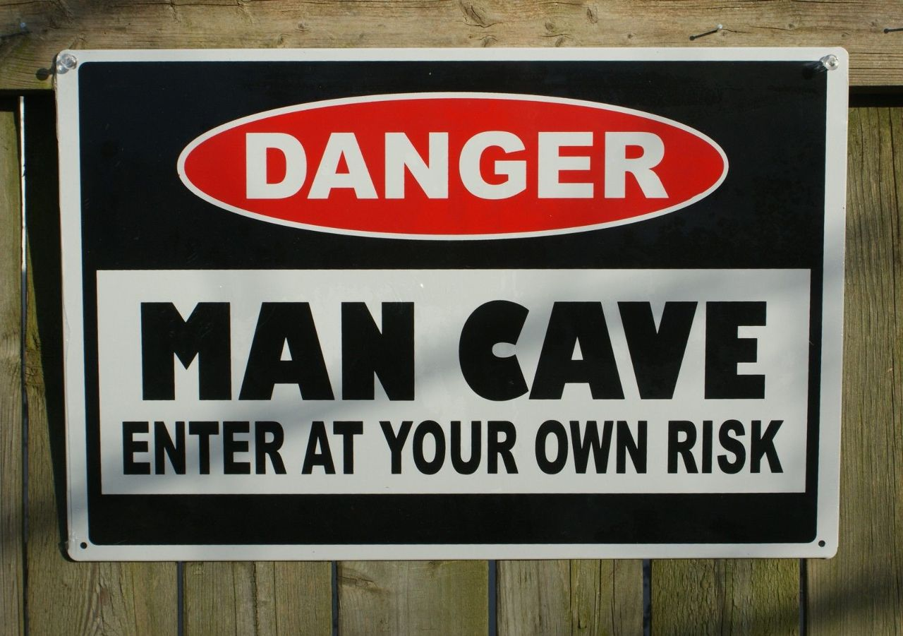 Gifts For Man Cave Bar : Danger man cave tin sign garage poker bar gift for father