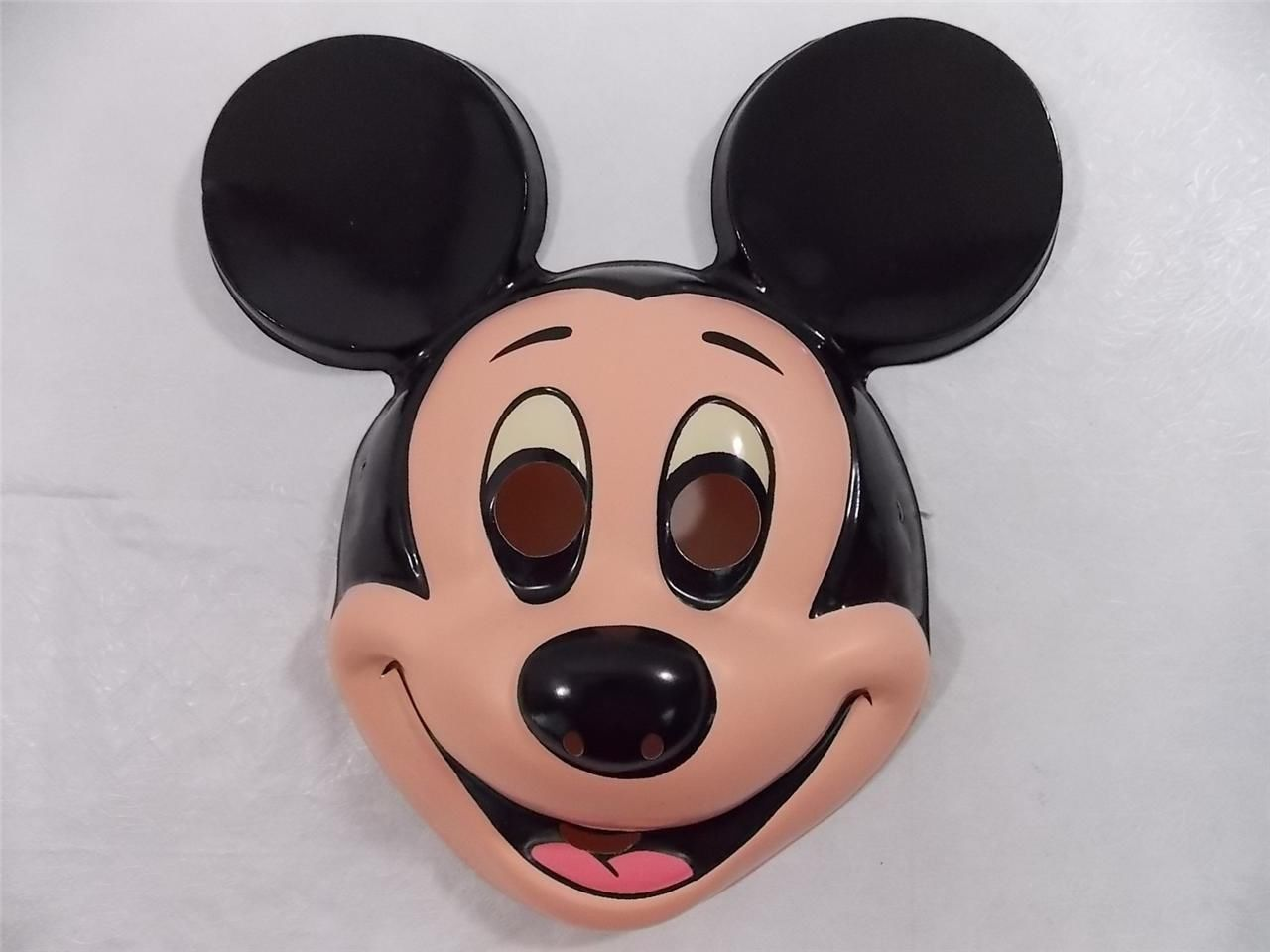 Vintage Mickey Mouse Halloween Mask Walt Disney Costume Ben Cooper ...