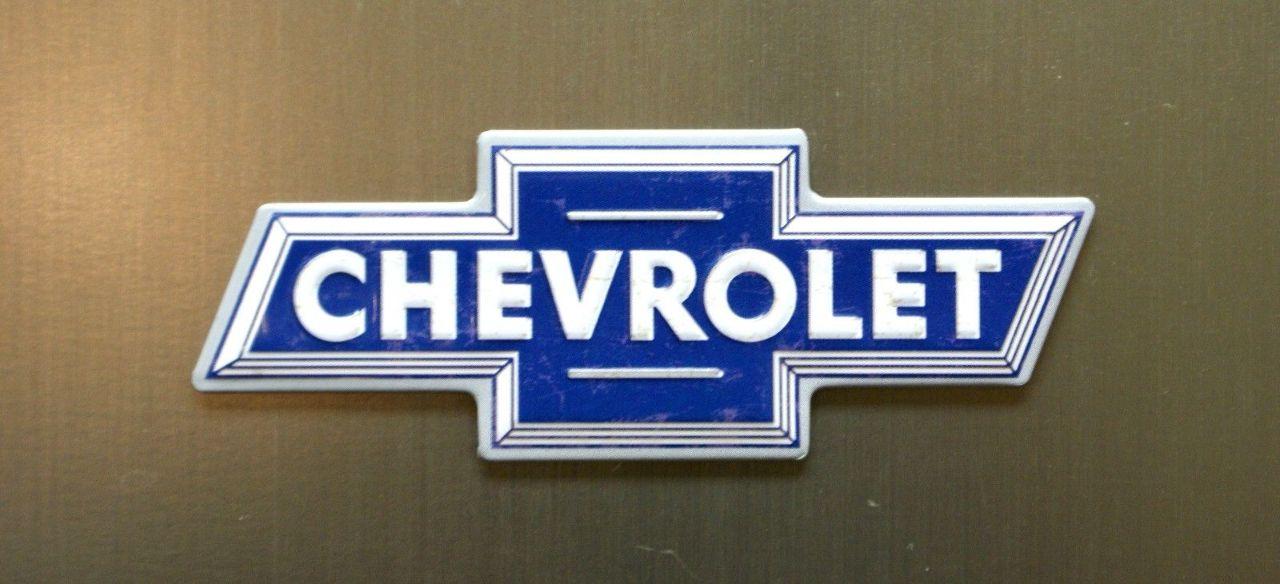 Chevrolet Bow Tie Logo Refrigerator Fridge Magnet Chevy