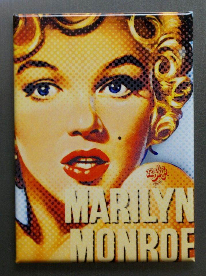 Marilyn Monroe Pop Art Pin Up Refrigerator FRIDGE MAGNET Movie ...