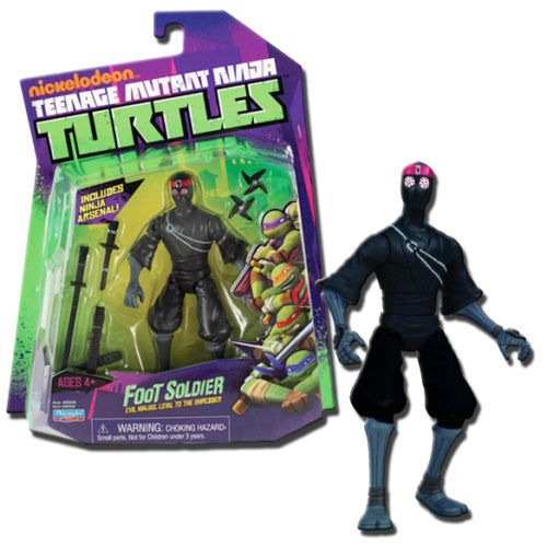 Foot soldier playmates toys tmnt teenage mutant ninja for Foot soldier
