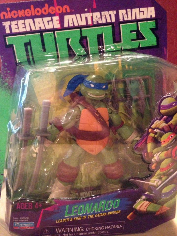 Leonardo W Swords Playmates Toys Teenage Mutant Ninja Turtles Tmnt