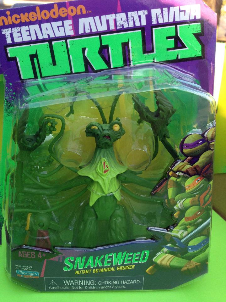 Snakeweed Playmates Toys Teenage Mutant Ninja Turtles ...Nickelodeon Ninja Turtles Toys