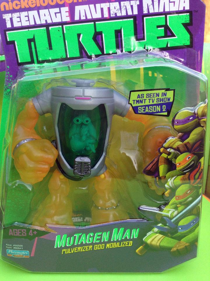 MUTAGEN MAN Teenage Mutant Ninja Turtles TMNT Action ...Nickelodeon Ninja Turtles Toys