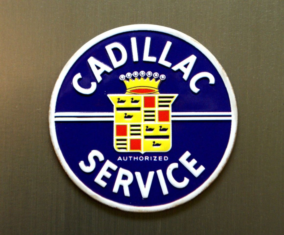 Cadillac Authorized Service Refrigerator Magnet CTS ATS ...