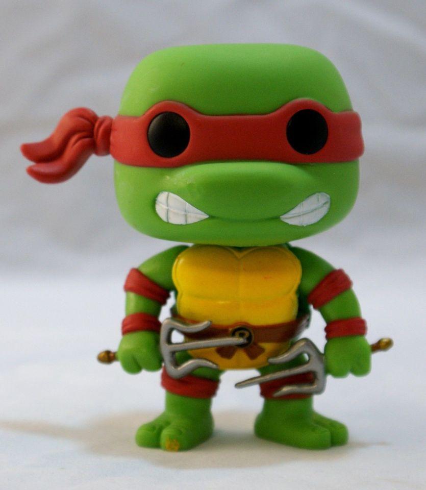 TMNT Teenage Mutant Ninja Turtles Funko Lot 6 Action Figures Complete Set
