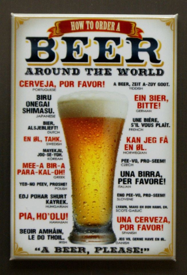 How To Order Beer Around The World Refrigerator Fridge