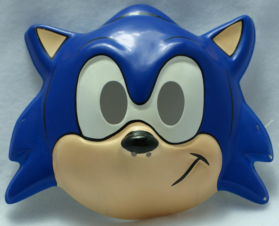 Vintage 1992 Sonic The Hedgehog Sega Halloween Mask Hedge Hog The Wild Robot Galleries