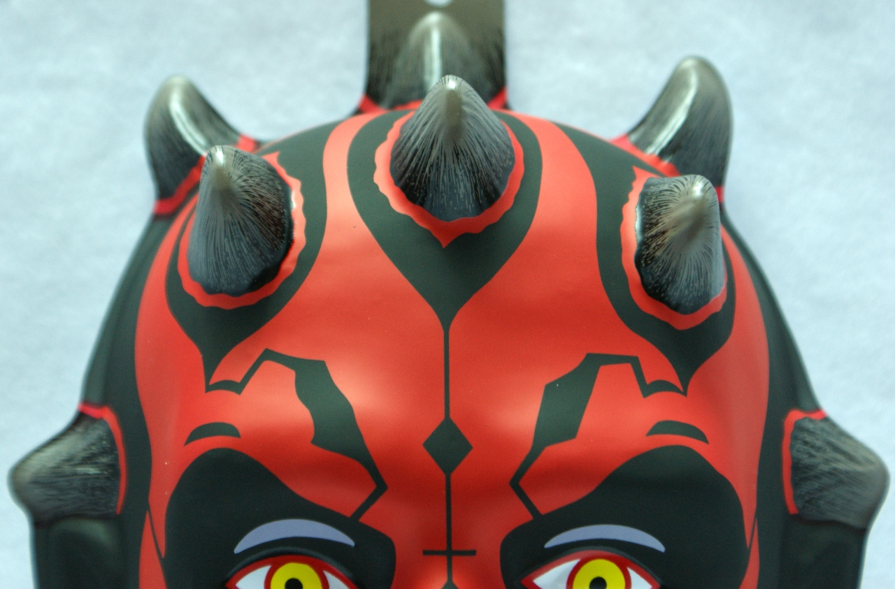 Star Wars Darth Maul Halloween Mask Rubies Lucasfilm Scifi Comic ...