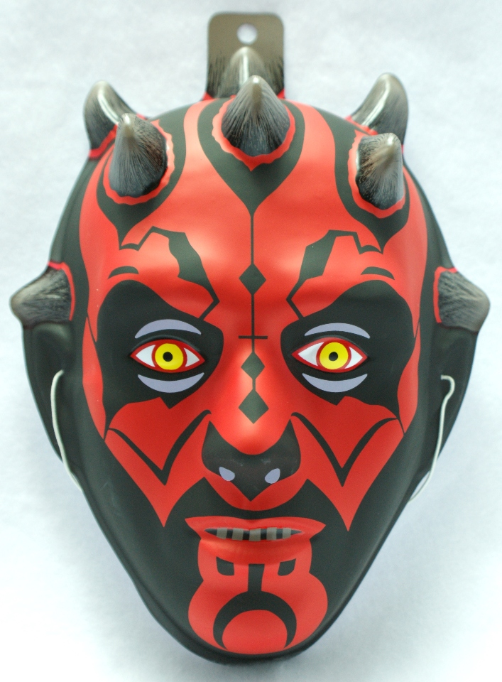 how to draw a tharth maul mask