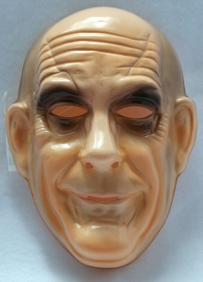 The Addams Family Uncle Fester Vintage Halloween Mask