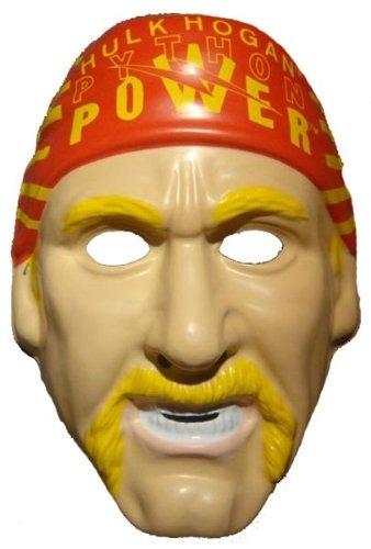Wwf Hulk Hogan Vintage Halloween Mask Wwe Wcw Nwo Pvc