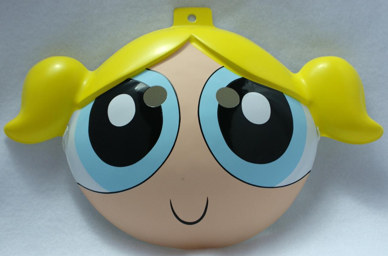 The Powerpuff Girls Bubbles Halloween Mask Cartoon Network PVC ...